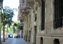 pharmacy in Barcelona, Spain