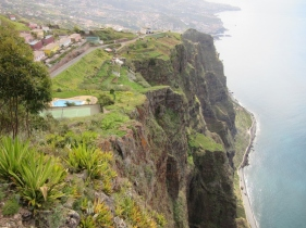 Cabo Girao - highest cliff in Europe. Funchal, Madeira, Portugal