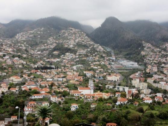 PIco dos Barcelos overlook.Funchal, Madeira, Portugal