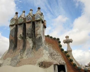 roof top - Casa Batlló - Barcelona, Spain
