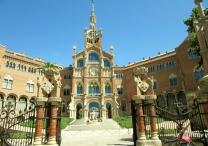 Hospital de la Santa Creu i Sant Pau - Barcelona, Spain