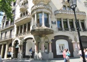 La Casa Lleo i Morera. Barcelona, Spain