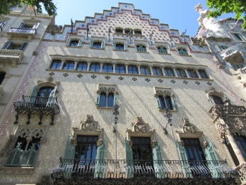 Casa Amattler. Barcelona, Spain