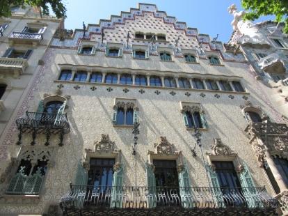 Casa Amattler. Barcelona, Spain