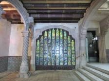 entry way Casa Amattler. Barcelona, Spain