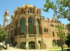 Hospital de la Santa Creu i Sant Pau -Barcelona, Spain