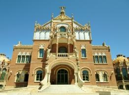 Hospital de la Santa Creu i Sant Pau Barcelona, Spain