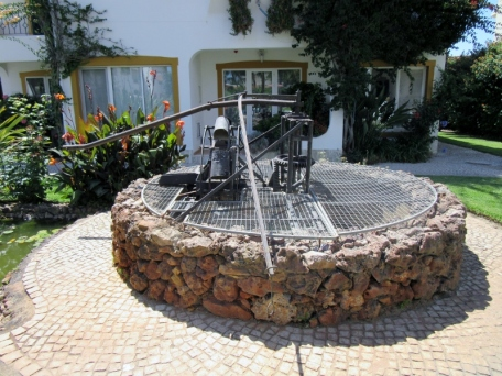 water well - called an old Nora and powered by donkey. Solcosta Resort, Ferrieras, Portugal