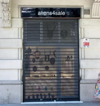 aliens 4 sale. Barcelona, Spain