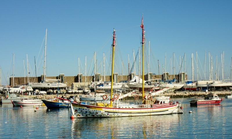 Lagos Harbor, Portugal