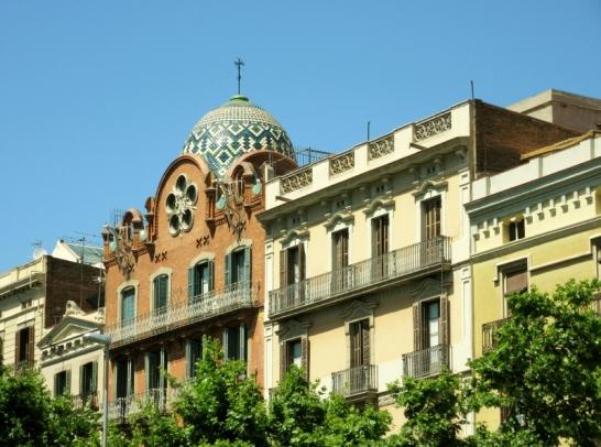 near Arc de Triomf - Barcelona, Spain