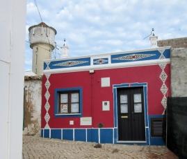 colorful house in Vila do Bispo, Portugal