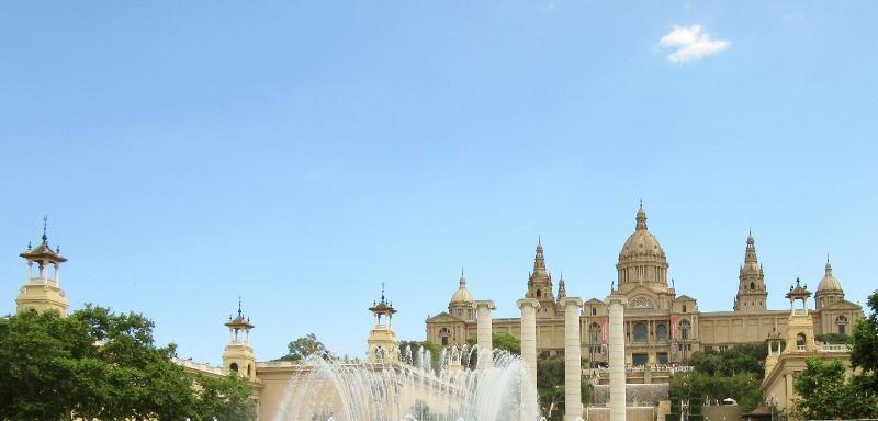 Caixaforum - Pavello Miles Van Der Roche. Barcelona, Spain