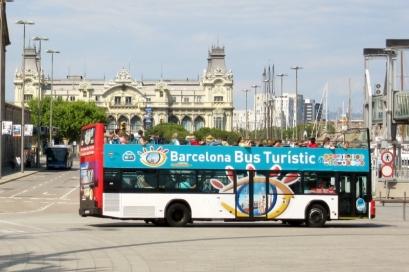 Hop on - Hop Off. Barcelona, Spain