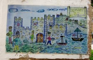 mural near children's playground Alvor, Portugal