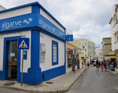 streets of Alvor, Portugal