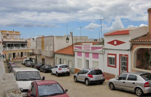 streets in Alvor, Portugal