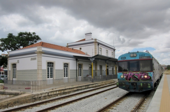 Portimao train station, Portugal
