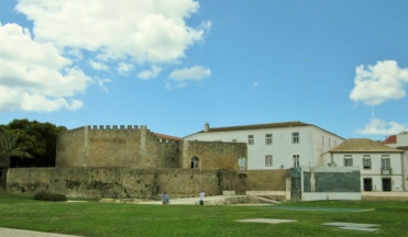 Lagos town walls and Governors' Castle, Portugal