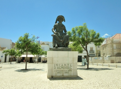 Henry the Navigator, Lagos, Portugal
