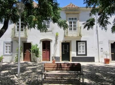 little plaza, Tavira, Portugal