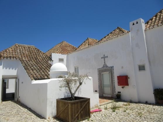 small peaked roofs, Tavira, Portugal
