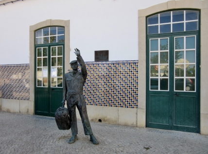 Tavira train station, Portugal