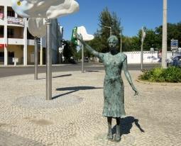 Tavira train station, Portugal