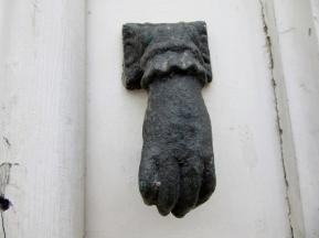 door knocker, Albufeira, Portugal