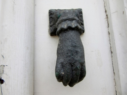 door knocker, Albufeira, Portugal