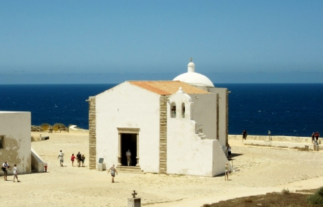 Church of Santa Maria -Promontorium de Sagres,Portugal