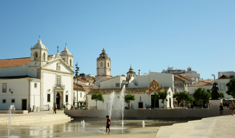 Church of Santa Maria and Santo Antonio, Lagos, Portugal