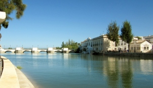 Roman Bridge, Tavira, Portugal
