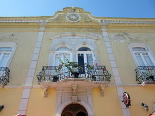 pretty building, Tavira, Portugal