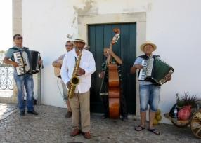street band, Tavira, Portugal