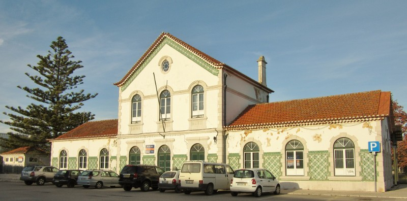 The old train station is much more picturesque than the new station next door.
