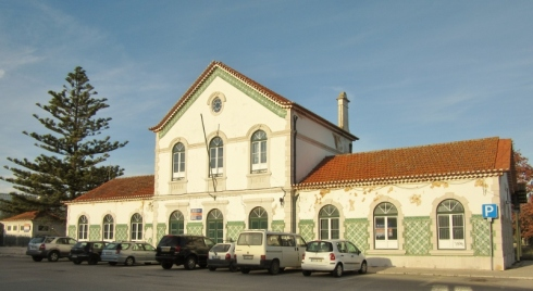 old train station, Lagos, Portugal