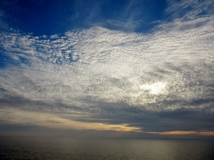 sky, cloud and water - Carvoeira, Portugal