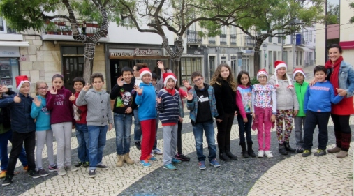 Merry Christmas from the elves, Lagos, Portugal