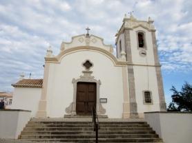 old Catholic Church in Vila do Bispo, Portugal