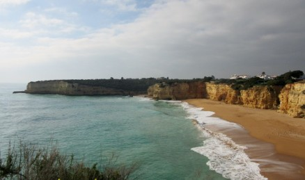 Gallery - cliffs, sky and sea near the capela da Nossa Senhora da Roch
