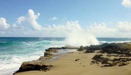 Cabarete - surf, sand and iron shore - Dominican Republican