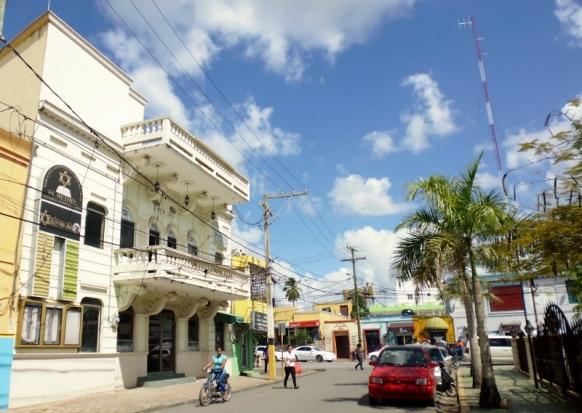 street scene Dominican Republican-