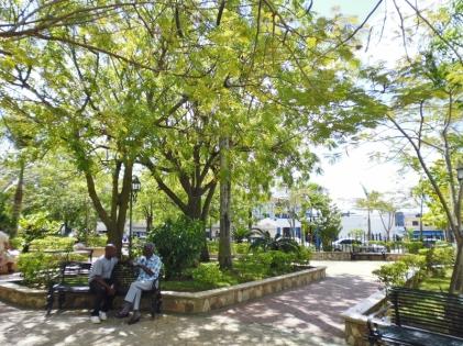 Iglesia San Dionisio - 1512- park outside - Dominican Republican