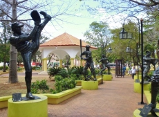Parque Central in La Romana - Dominican Republican