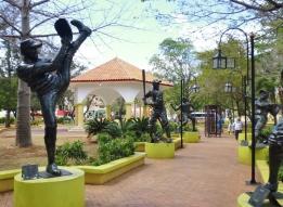 Parque Central in La Romana - Dominican Republican