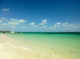 Beach scene - Dominican Republican