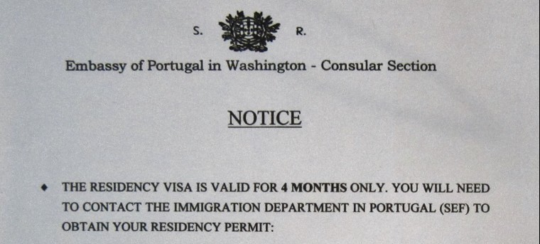 4 month residency visa