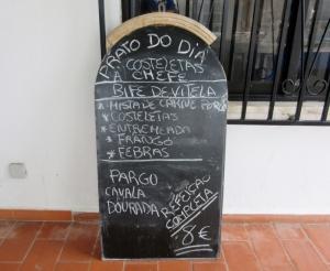 Daily meal - Restaurante Mar a Vista