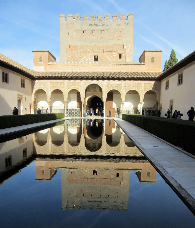perfect reflection-The Alhambra